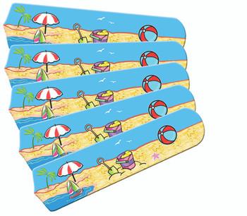"Fun In The Sun 52"" Ceiling Fan Blades Only 1"