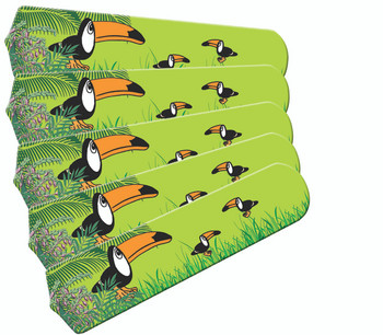 "Kids Toucan Clan 52"" Ceiling Fan Blades Only 1"