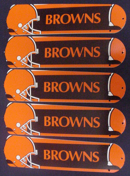 "NFL Cleveland Browns 52"" Ceiling Fan Blades Only 1"