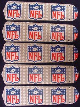 "NFL National Football League 52"" Ceiling Fan Blades Only 1"