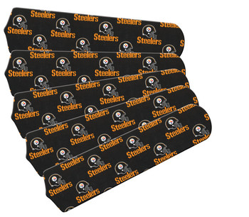 "Pittsburgh Steelers Football 52"" Ceiling Fan Blades"