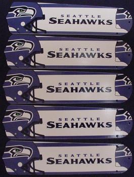 """Seattle Seahawks Football 52"""" Ceiling Fan Blades"""