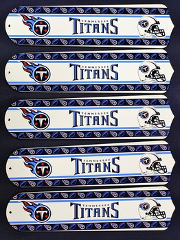 "Tennessee Titans Football 52"" Ceiling Fan Blades"