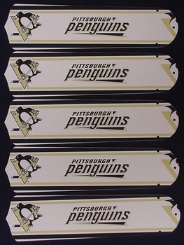 "NHL Pittsburgh Penguins 52"" Ceiling Fan Blades Only 1"