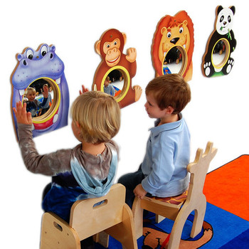Animal Friends Wall Mirrors