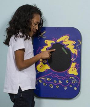 Playsa Face Girl Wall Activity Toy