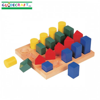 Guidecraft Colored Geo Forms 1