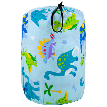 Wildkin Olive Kids Dinosaur Land Original Sleeping Bag in Bag