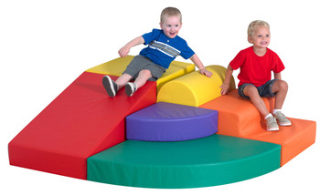 Childrens Factory Soft Tunnel Set Indoor Playground for Toddlers Active Play Set for Kids
