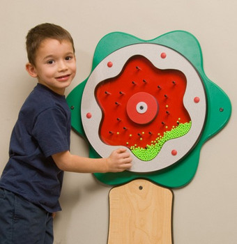 Plinko Flower Wall Activity Toy