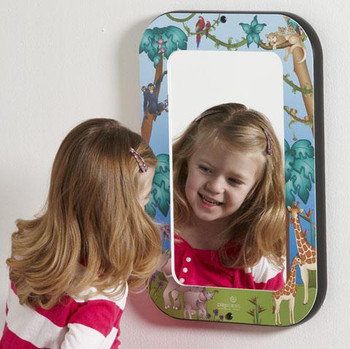 Animal Families Wall Mirror