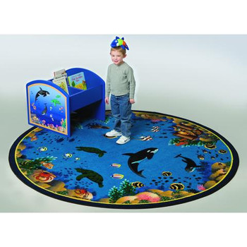 Playscapes Seascape Kids Area Carpet