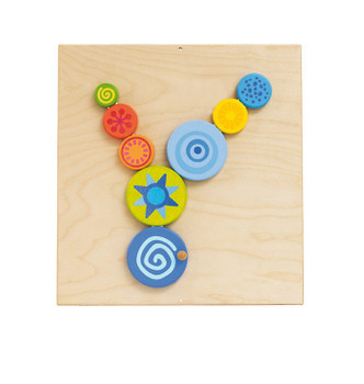 HABA Sensory Wall - Special Effects Turning Discs
