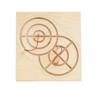 Magnetic Track + 2 Wands Activity Panel