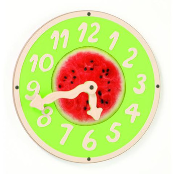 Giant Watermelon Clock Wall Toy