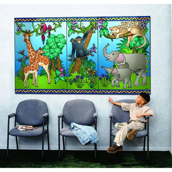 Animal Families Wall Mural