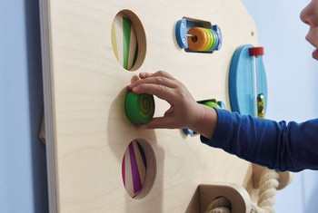 Sensory Learning Walls - Motor Skills D 1