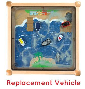 Replacement Vehicles for Ocean Theme Magnetic Sand Table