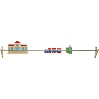 Push Along Train Rail Wall Activity  1