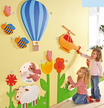 Wooden Play Wall Collection