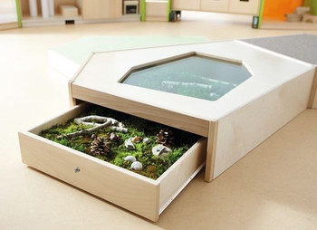 "Grow.upp Display Case Platform ""A"" 1"