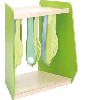 Grow.upp Wide Trapezoid Cabinet w/ Sensory Leaves