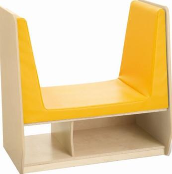 Grow.upp Relax & Chill Children's Bench w/Cushion