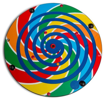 Lollipop Maze Wall Activity