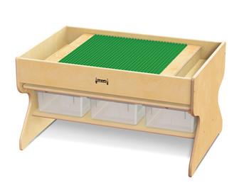 Deluxe Building Table - Preschool Brick Compatible