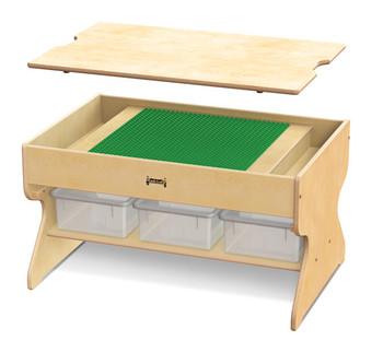 Deluxe Building Table - Preschool Brick Compatible 1