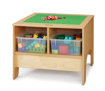 Building Table - Preschool or Traditional Brick Compatible 1