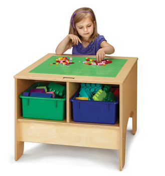 Building Table - Preschool or Traditional Brick Compatible