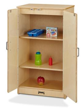 Jonti-Craft® Culinary Creations Refrigerator Open