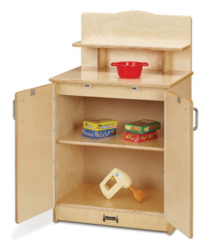 Jonti-Craft® Culinary Creations  Cupboard Open