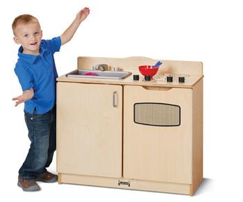 2-in-1 Play Kitchen