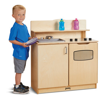 Pretend Play Kitchen Activity Center