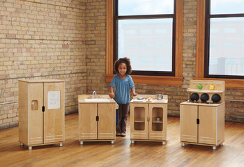 TrueModern® Play Kitchen 4 Piece Set 1