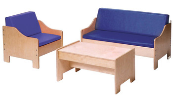 Angeles Children's Furniture Set - Blue