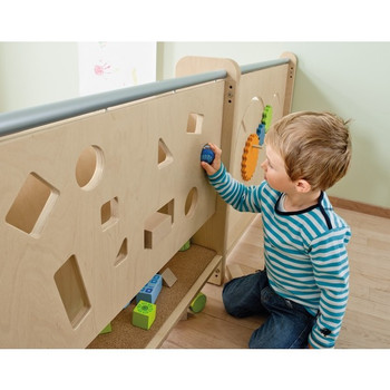 HABA Toddler Partition Wall, Shapes Finder 1