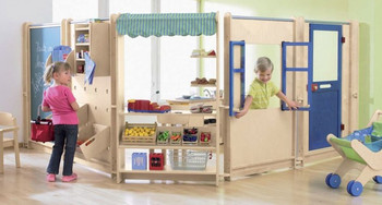 Kindergarten Partition Wall