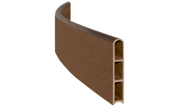 Uptown Brown Curved Board