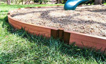 Classic Sienna Curved Playground Border