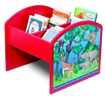 Animal Families Kinderbox Book & Media Browser Bin