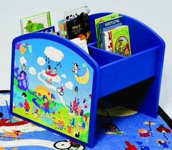 Harmony Park Kinderbox Book & Media Browser Bin