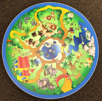 Safari Adventures Play Table