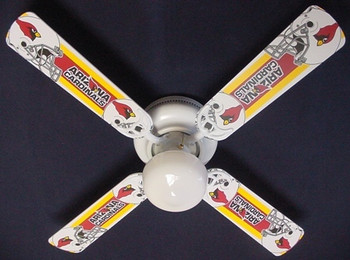 Arizona Cardinals Ceiling Fan 42""