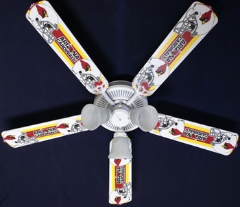 Arizona Cardinals Ceiling Fan 52""