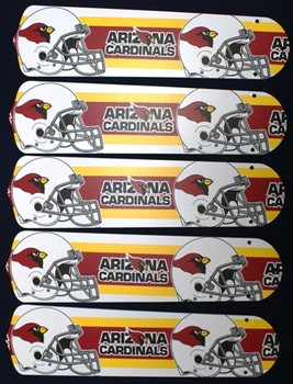 "Arizona Cardinals 52"" Ceiling Fan Blades"