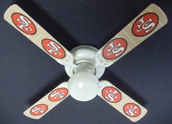 San Francisco 49ers Ceiling Fan 42""