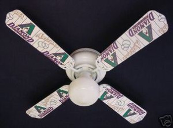 Arizona Diamondbacks Baseball Ceiling Fan 42""